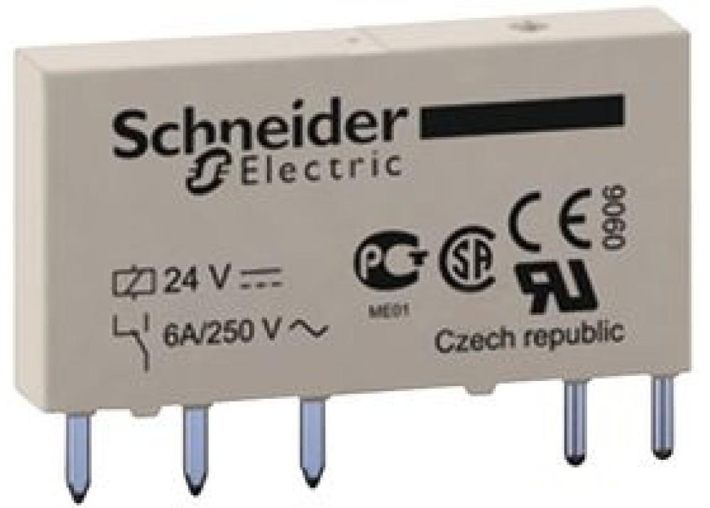 Relay Schneider 24V 6A 5P RSL1AB4BD