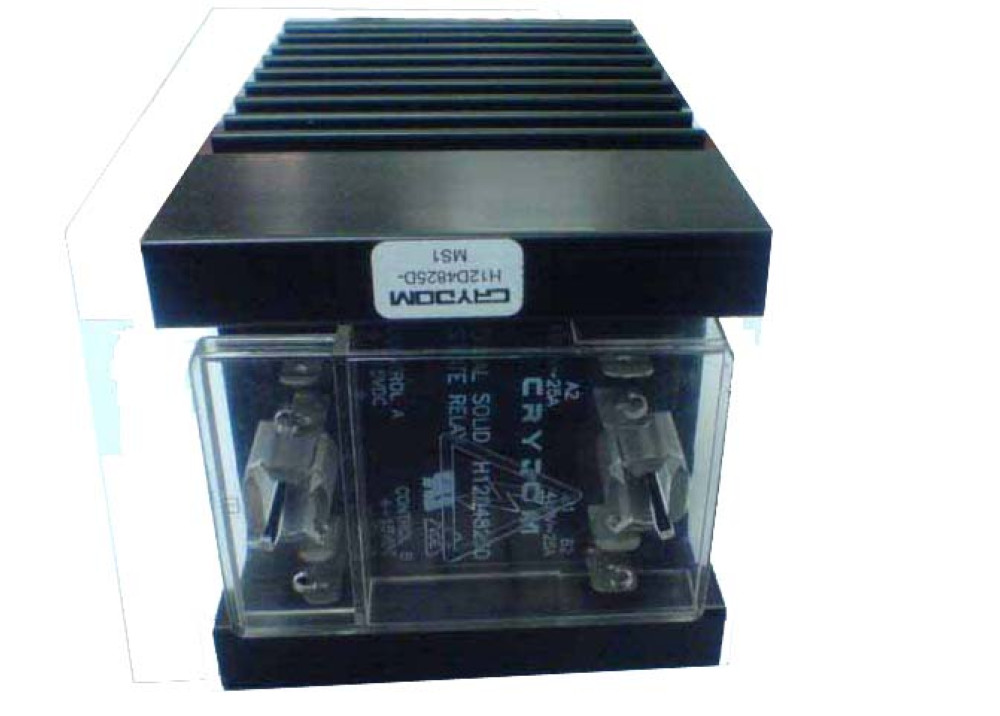 Crydom  RELA SSR H12D4825D 480V 25A 4 15VDC + Heatsink