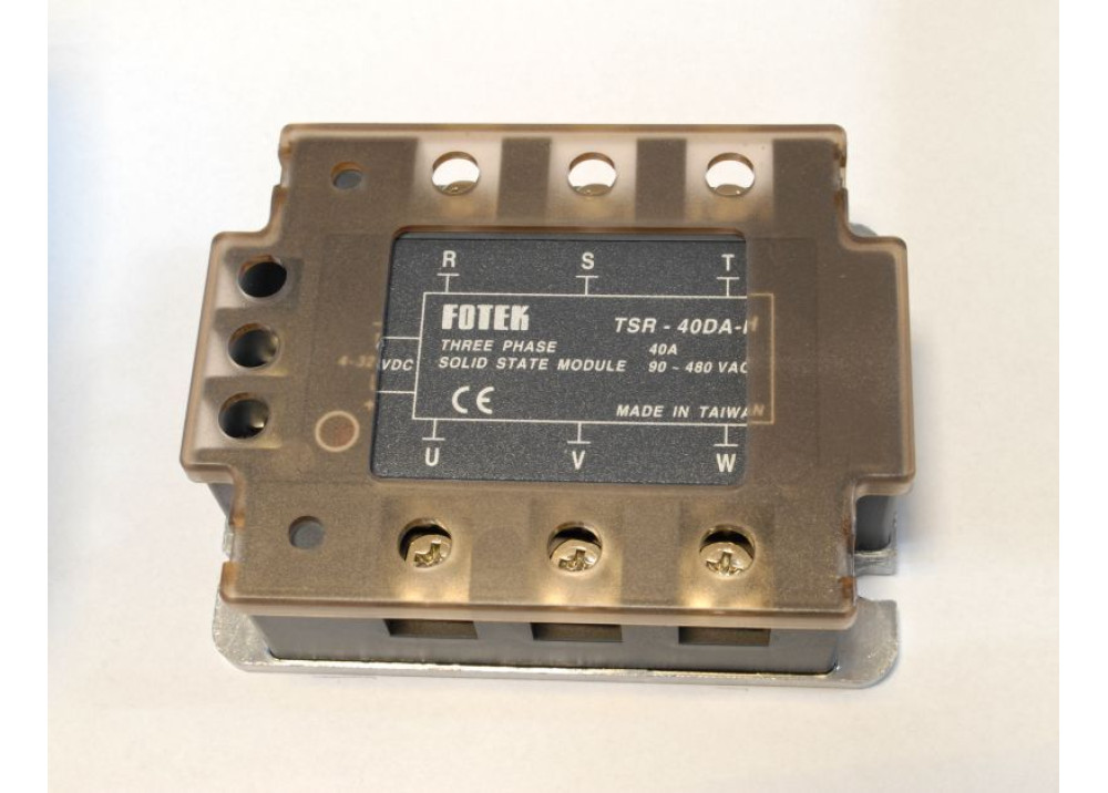 TSR-40DA 480VAC 40A IN 4V~32VDC SSR THREE PHASE