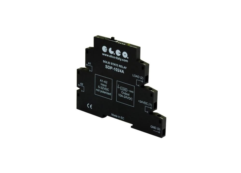 SSR DIN El.Co SDP-1024A OUT 5.5~36VDC 10A DC IN 5~32VDC