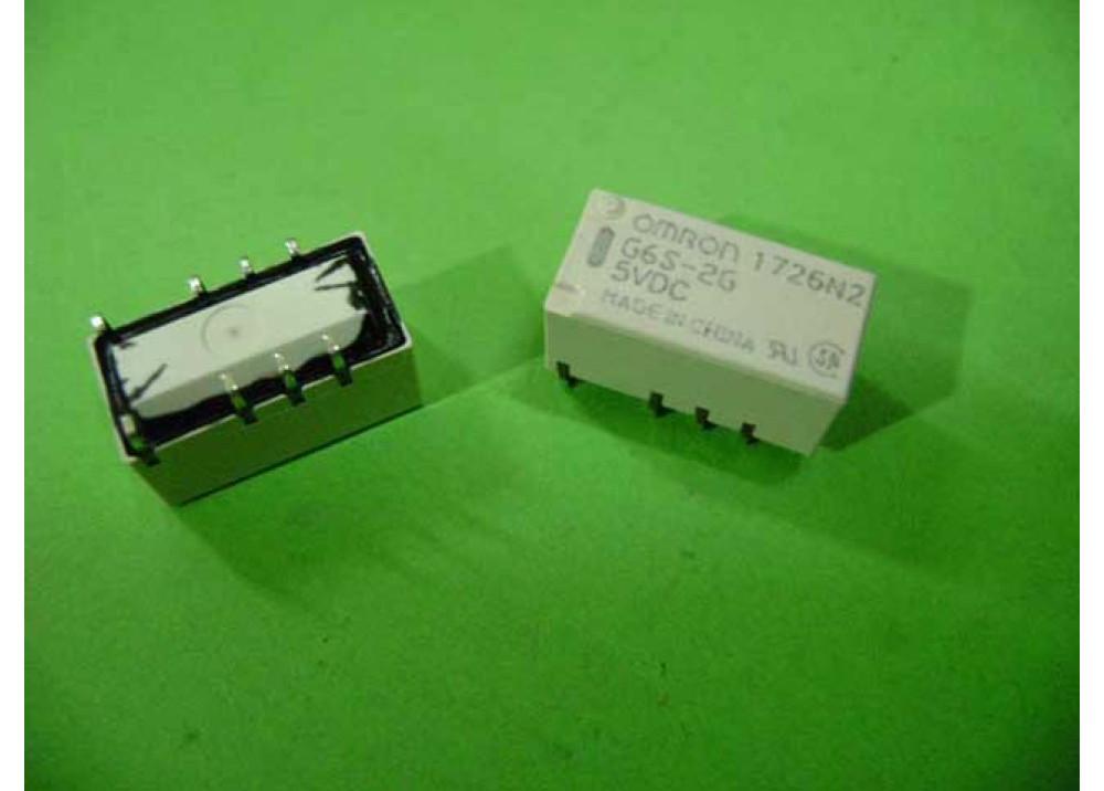 RELAY OMRON SMD G6SU-2G DC5  5V 2A