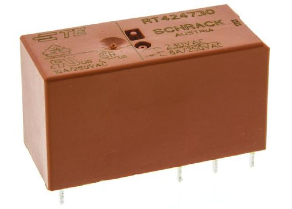 Relay SCHRACK 230VAC 8A 2C RT424730