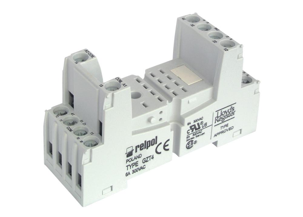 Relpol Relay Socket GZT4 14P