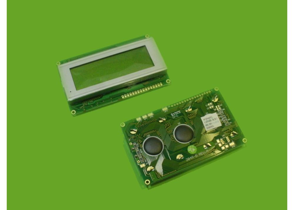 LCD CHRACTER AC204AYI 20X4