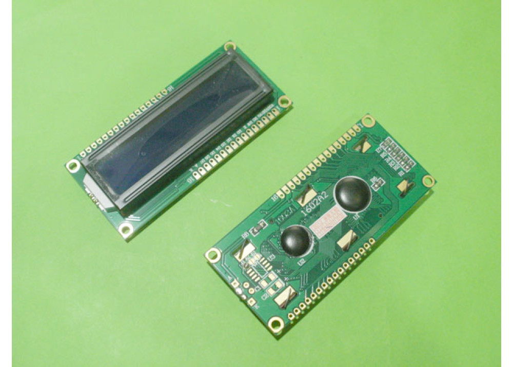 LCD CHRACTER BLUE 16X2 1602A2