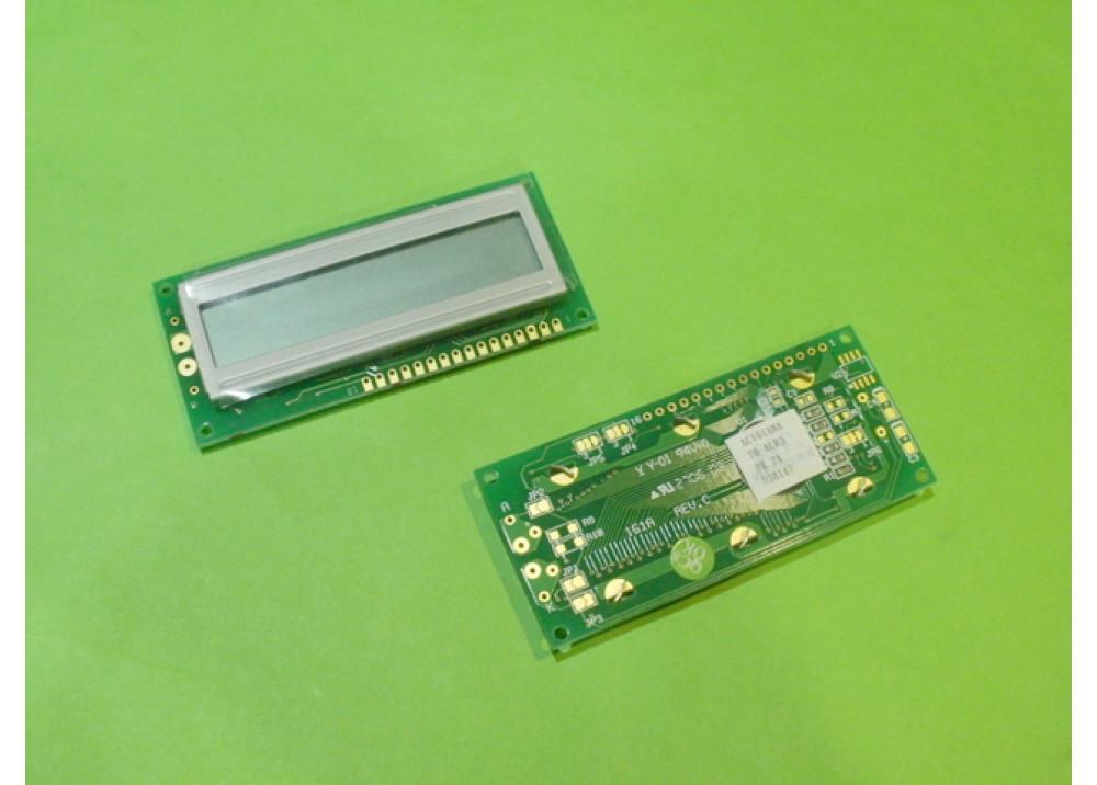 LCD CHRACTER AC161ANA 16X1