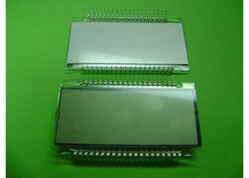 LCD 4 DIGITS 40P DISPLAY, 7 SEGMENT, 1 INCH , 4 DIGITS