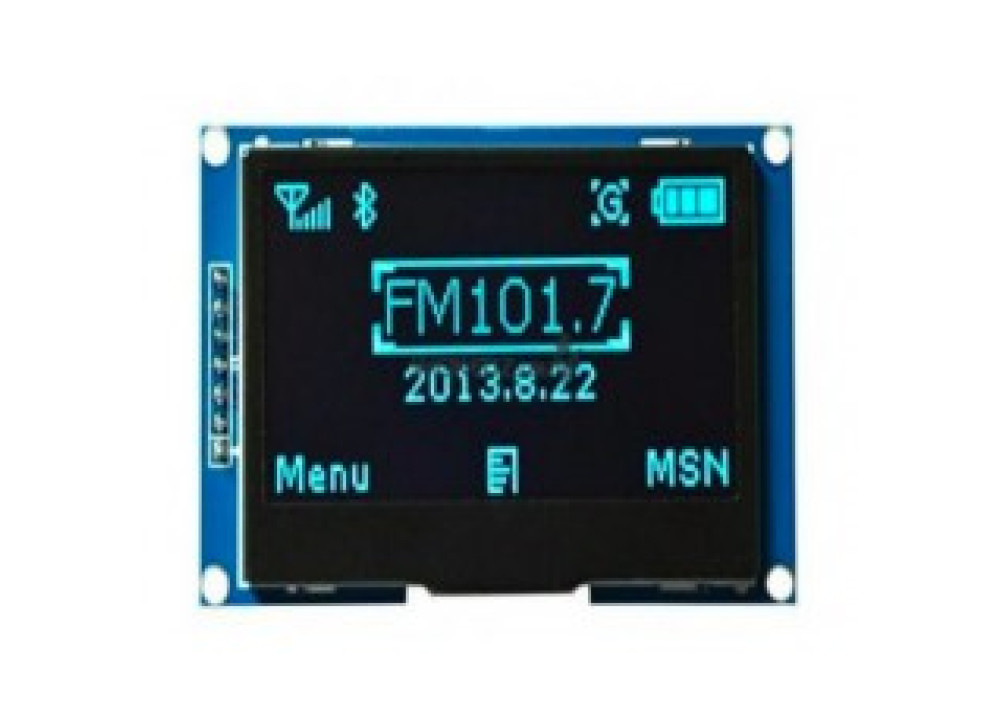 OLED GRAPHIC 128x64 2.4 inch Blue SPI/IIC For Arduino