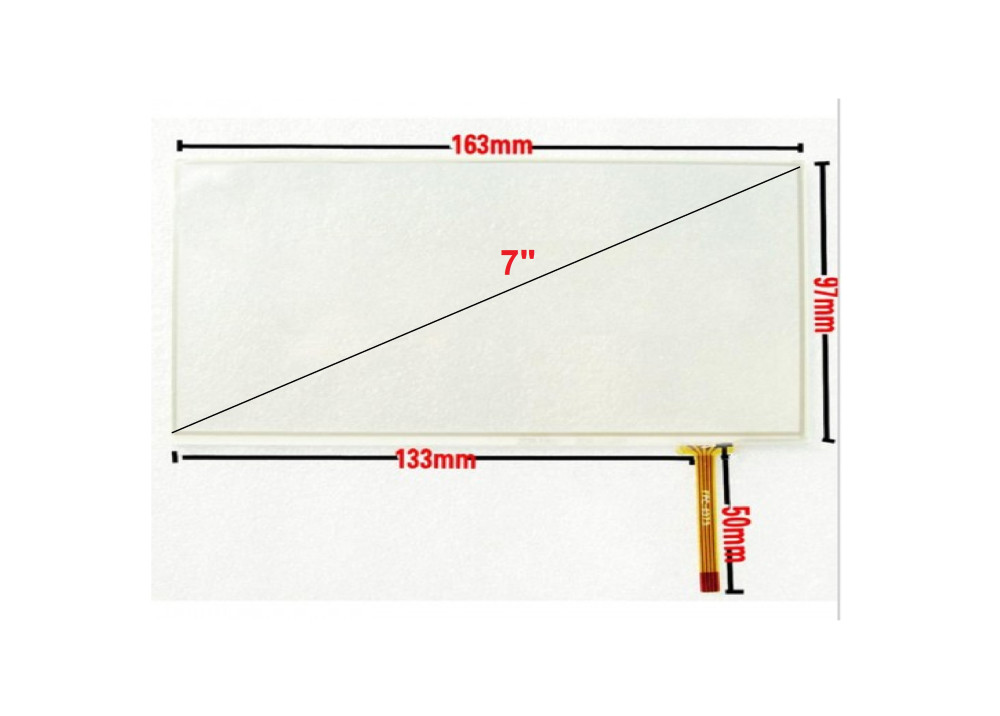 TOUCH PANEL RESISTIVE 7