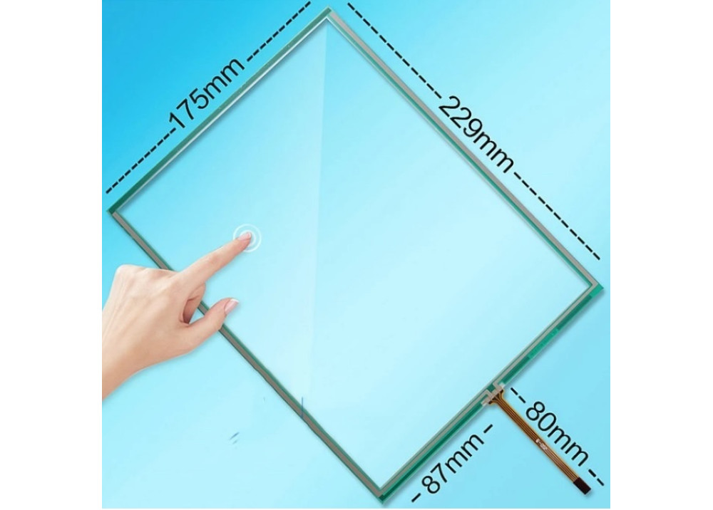 TOUCH PANEL RESISTIVE N010-0554- X225/01  4G  10.4