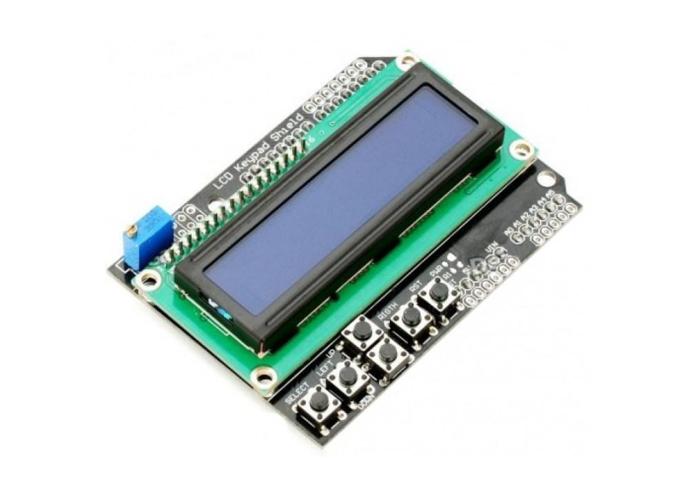 LCD Keypad Shield 1602 ARDUINO