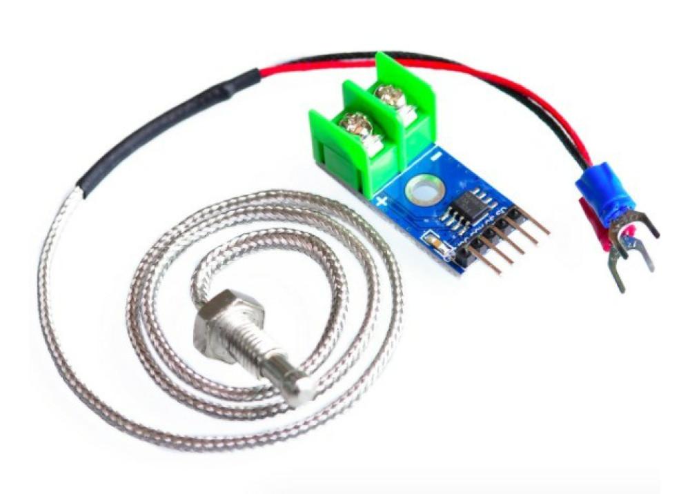 Temperature Thermocouple Sensors MAX6675 Module + K Type  for Arduino