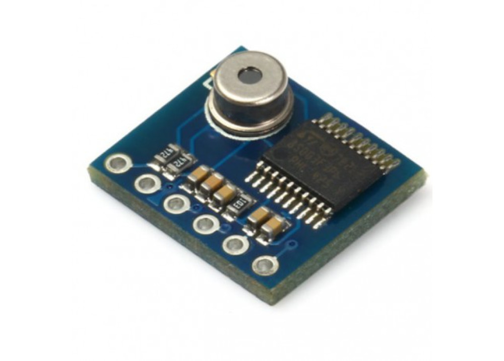 Temperature Sensors Integrated Infrared MLX90615 STM8S003F Module MLX90615 STM8S003F3P Contactless IR Infrared Thermometer Sensor Module Serial for Arduino