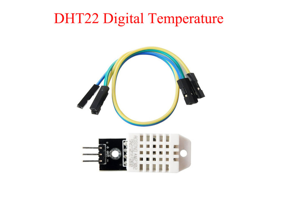 Temperature & Humidity Module DHT22 AM2302 for Arduino