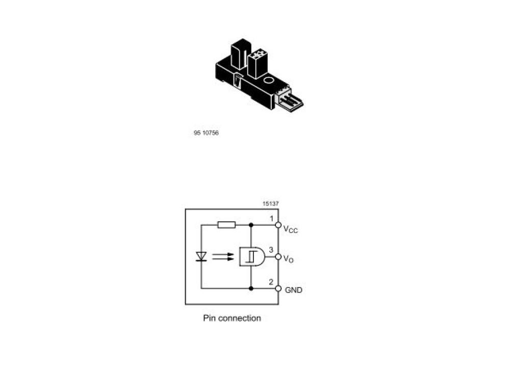 Transmissive Optical Sensor TCYS6201