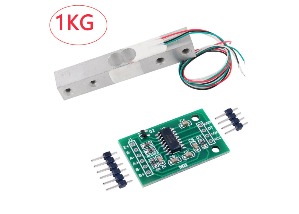 Arduino Load Cell Scale Sensor Modul HX-711 With 1KG