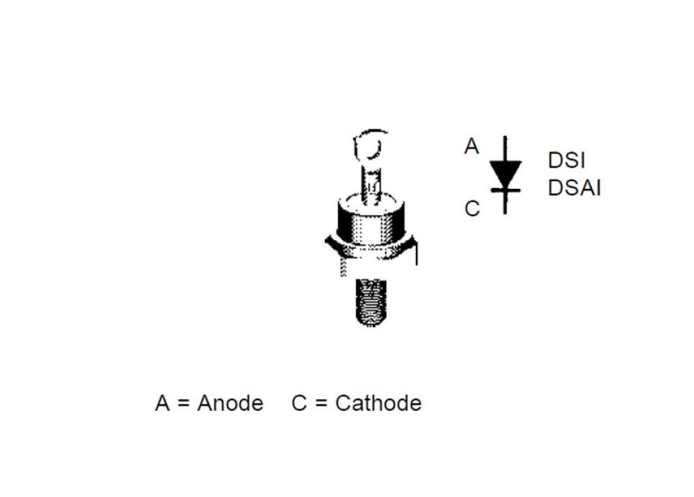 DIODE DSI17-12A 1200V 25A 500ns DO-203AA