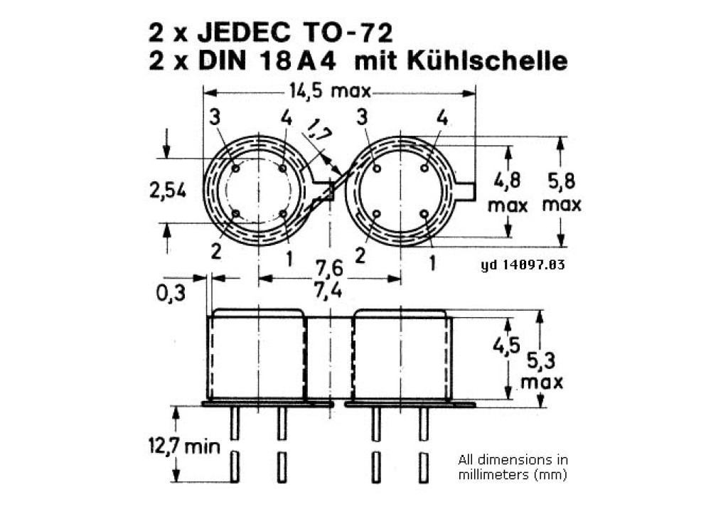 DIODE PAD5 -5pA TO-72