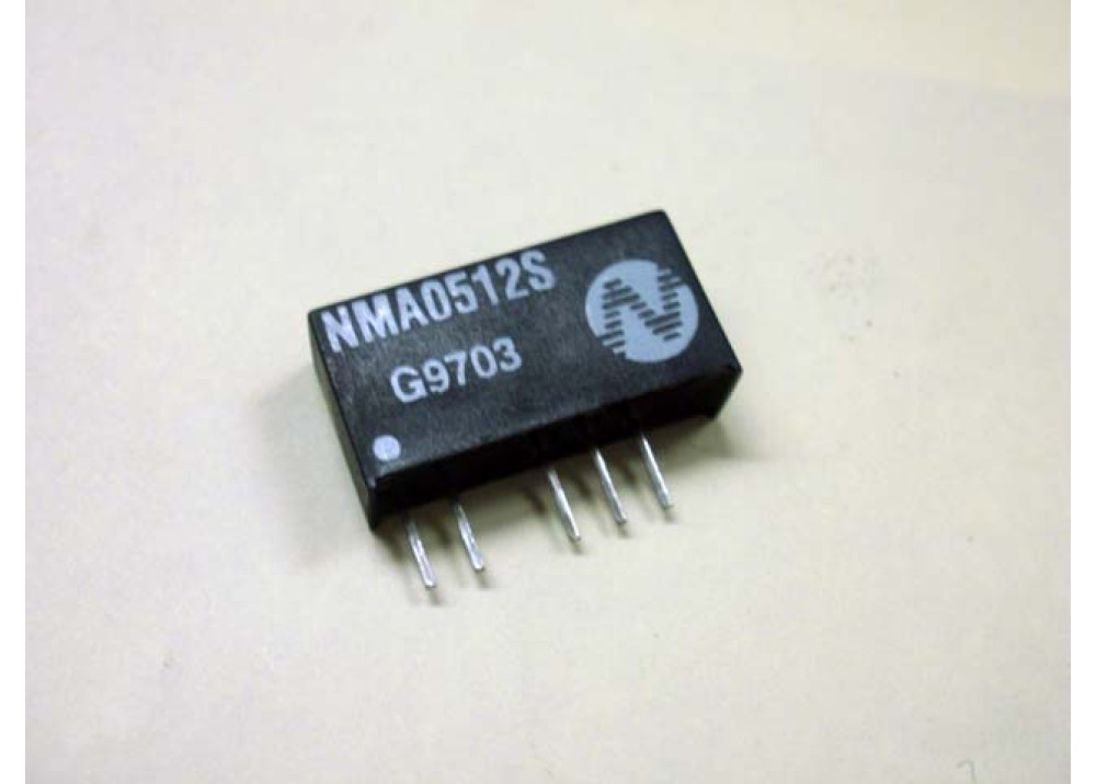 Isolated Dual   DC TO DC CONVERTER 1W In5 VDC Out 12VDC +/-