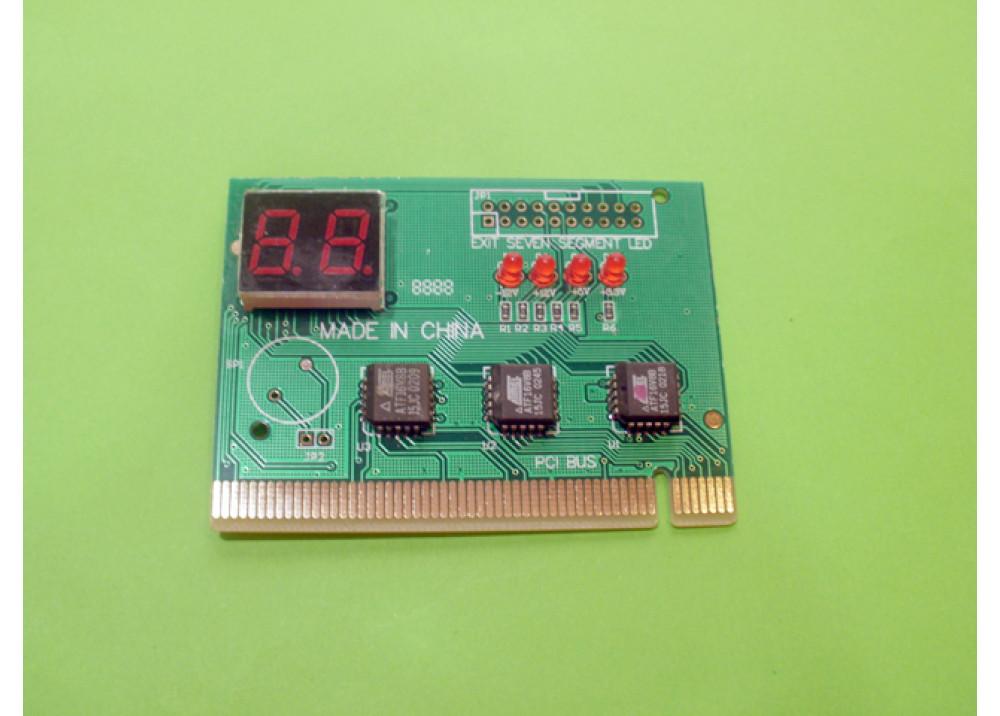 PC PCI Analyzer Tester Diagnostic 2LEDS