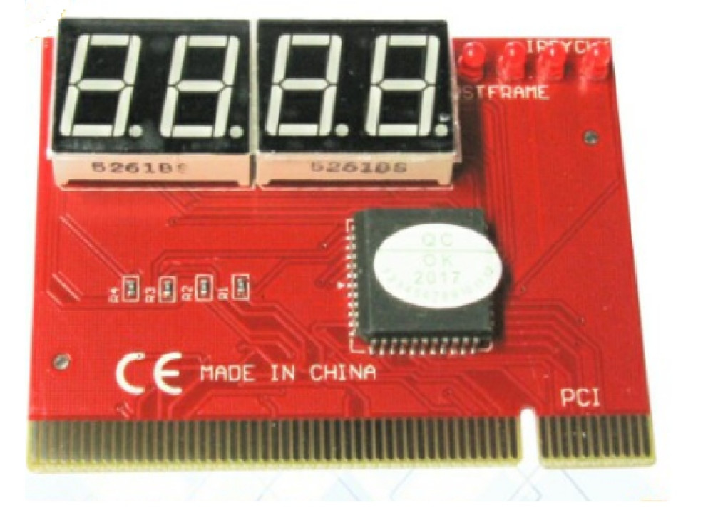PC PCI Analyzer Tester Diagnostic 4LEDS