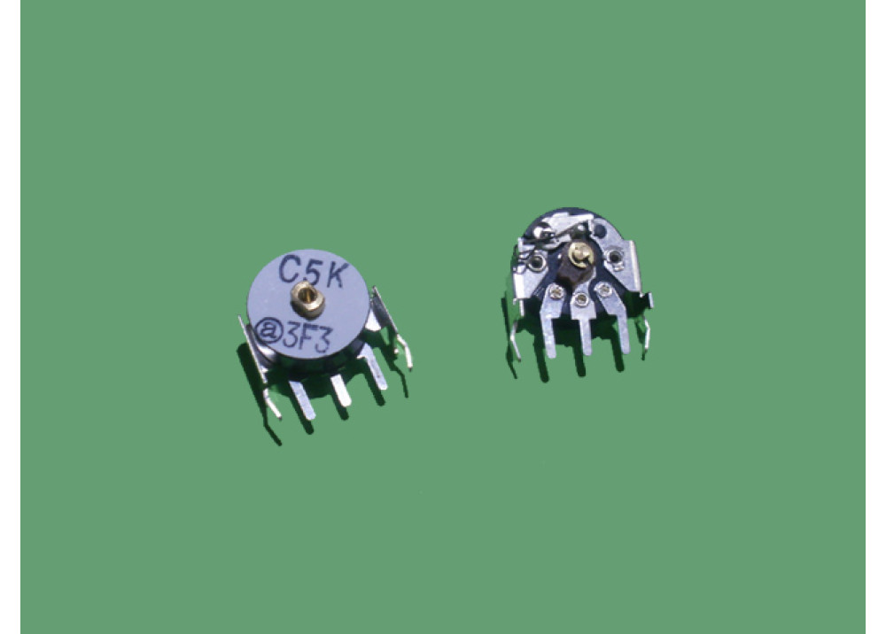 carbon film potentiometer vertical 5K