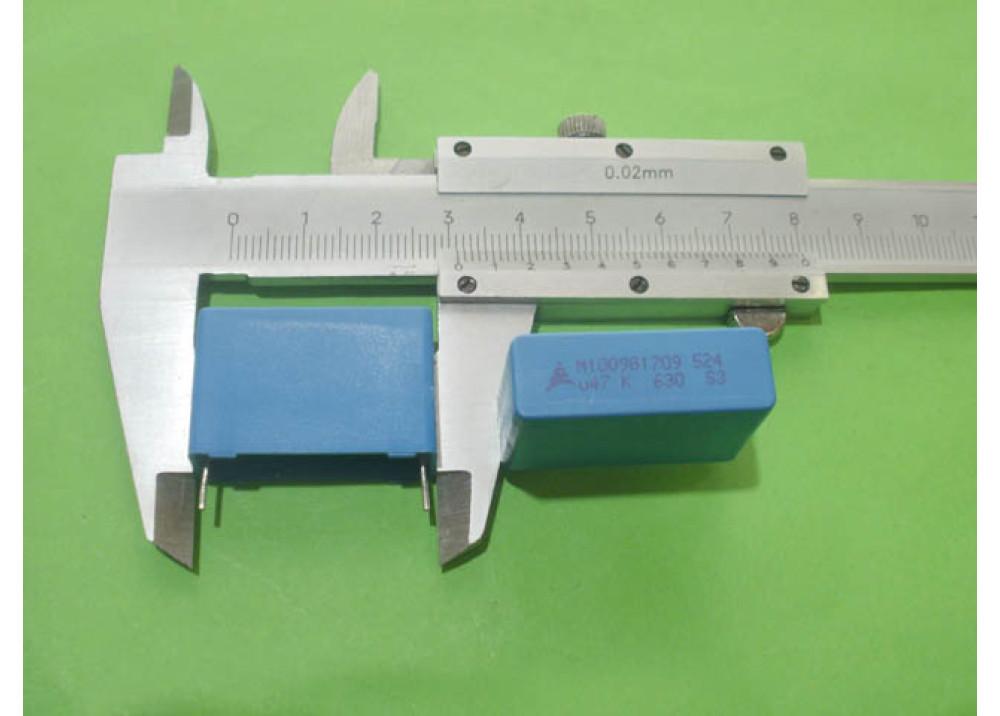 MKT Capacitor 470nF 630V DC