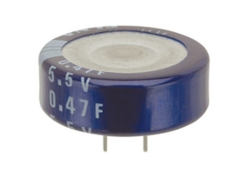 Electrolytic Capacitor 0.47F 5.5V
