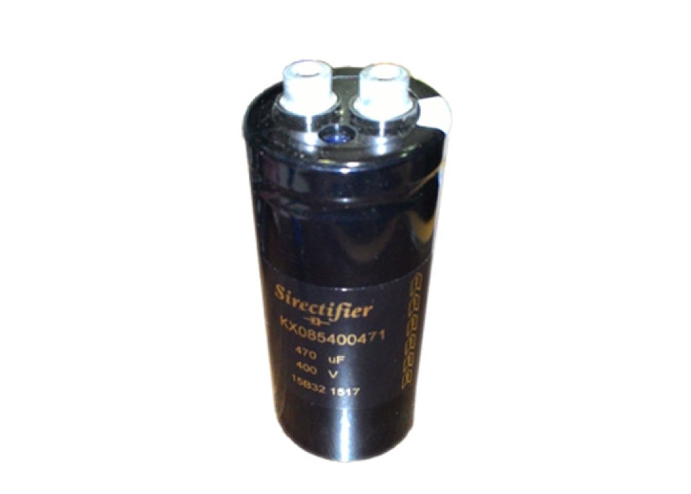Electrolytic Capacitor 470UF 400V KX085400471 Sirectifier Electronics SCREW