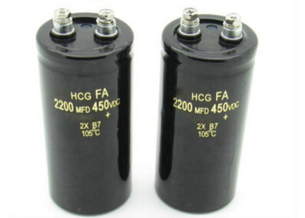 Electrolytic Capacitor 2200uF 450V