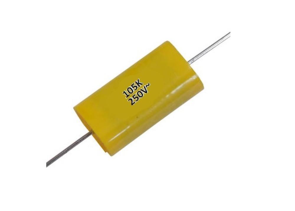 MKT Capacitor AXIAL 1uF 400V