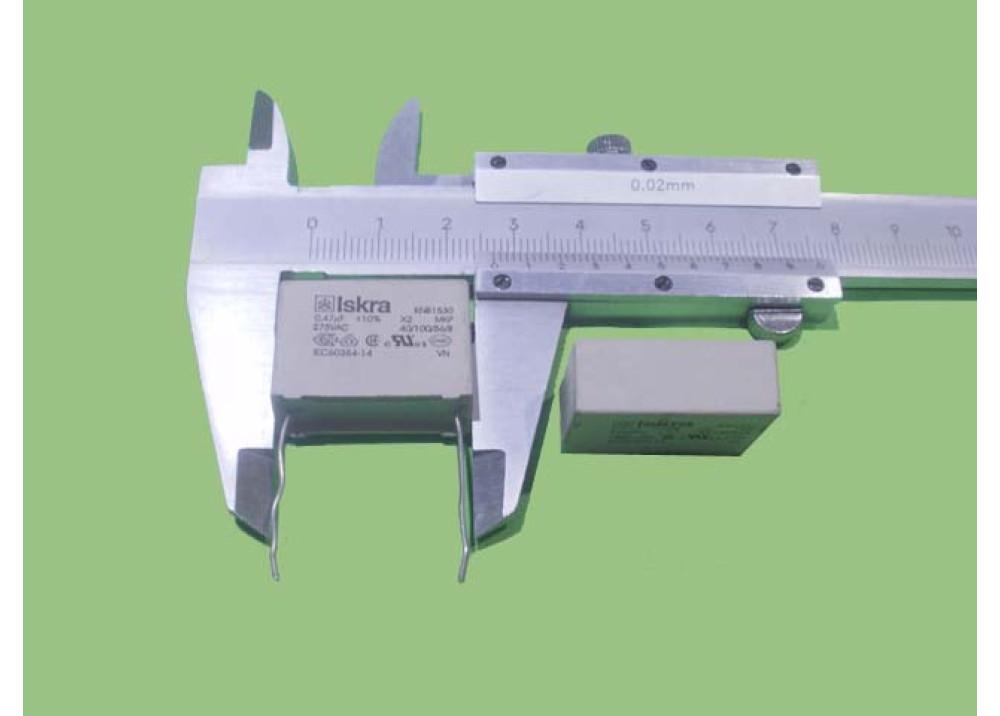 MKT Capacitor 470nF 275V AC
