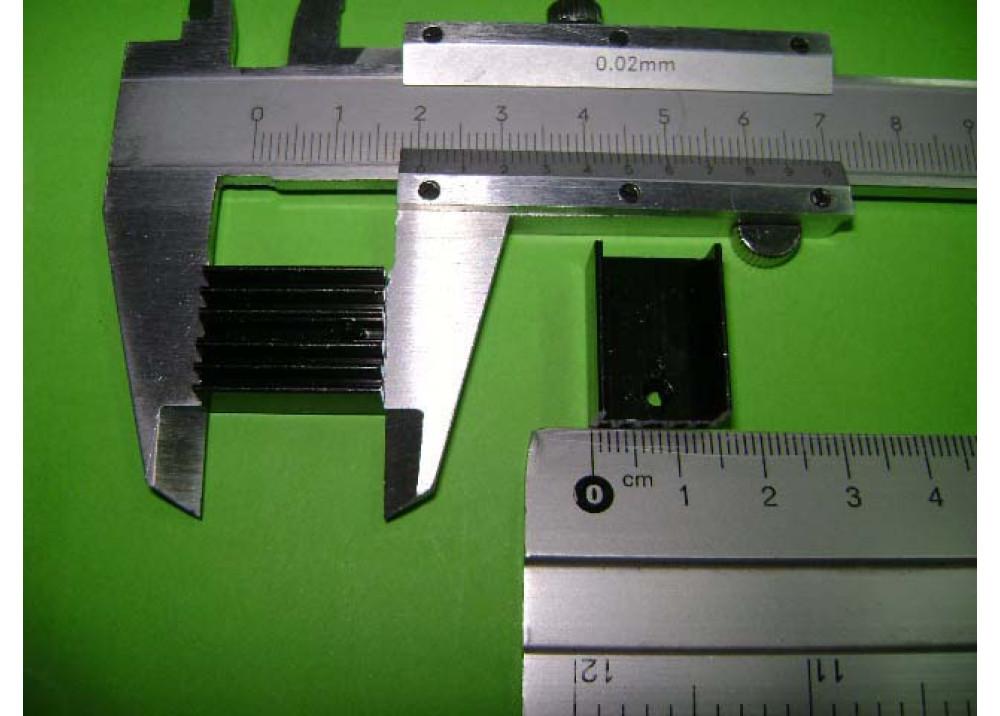 HEATSINK 20x14x10mm TO220