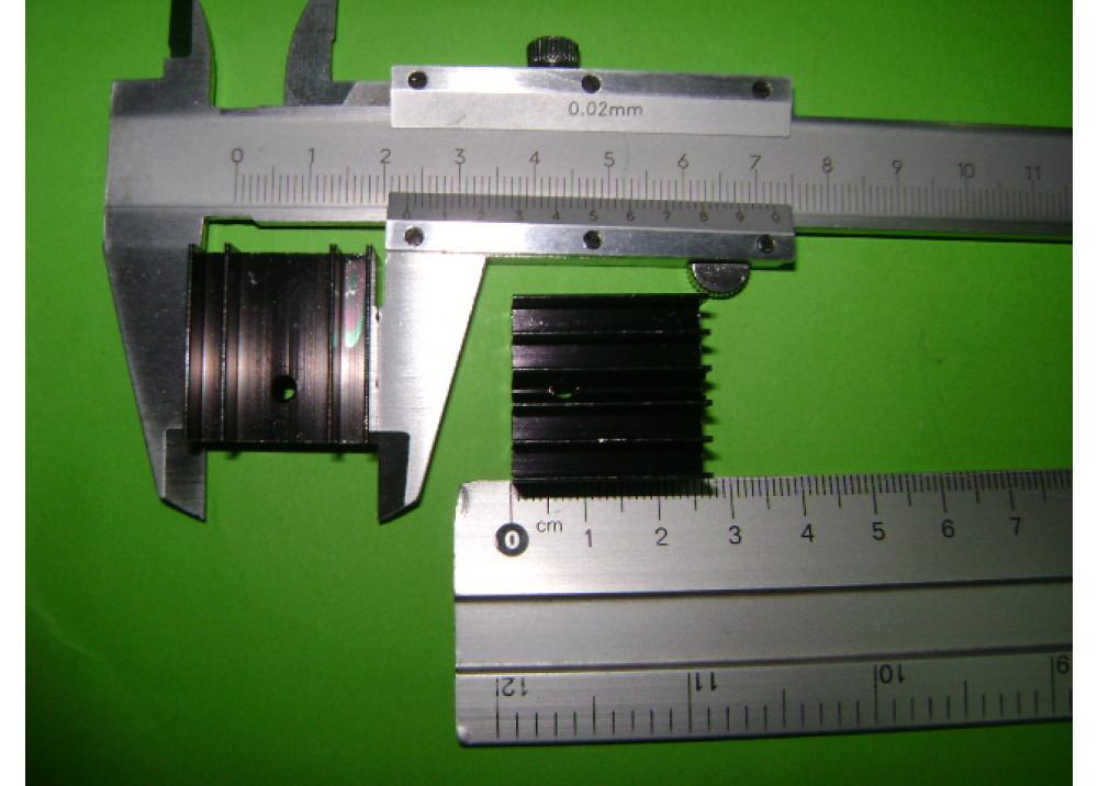 HEATSINK 25x23x14mm TO220