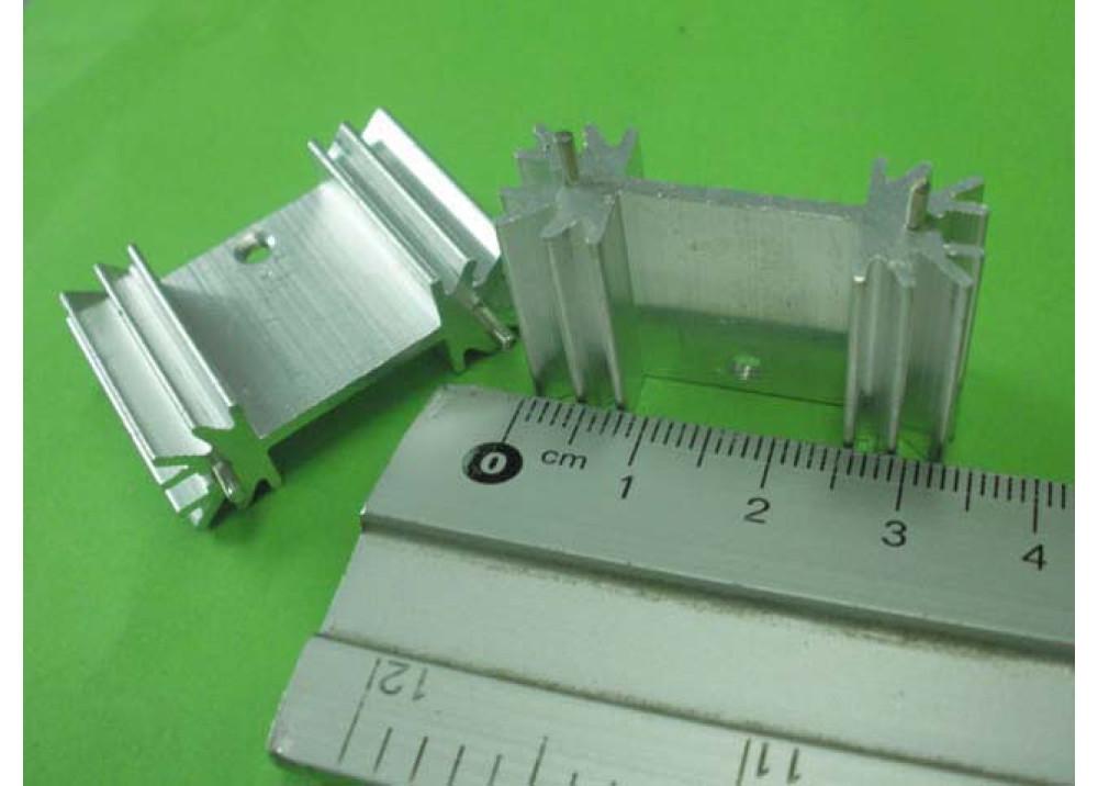 HEAT SINK  21x33x12mm TO247