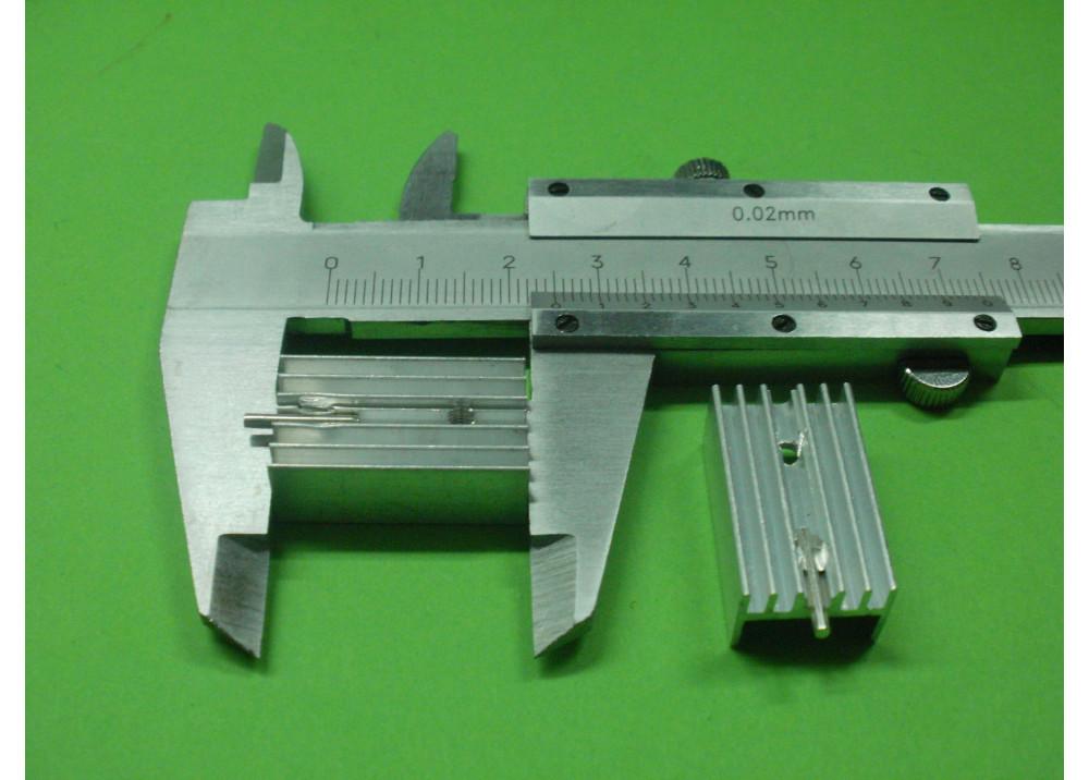 HEAT SINK 25x14x10mm TO220
