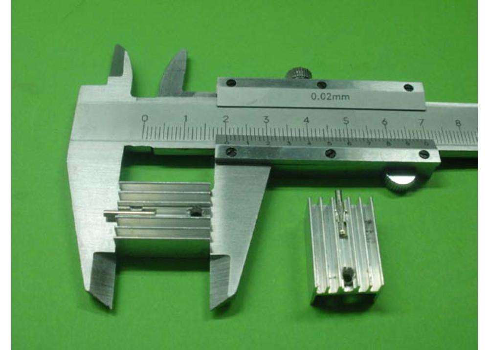 HEAT SINK 20x14x10mm TO220