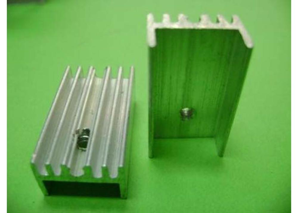 HEATSINK  25x14x10mm TO220