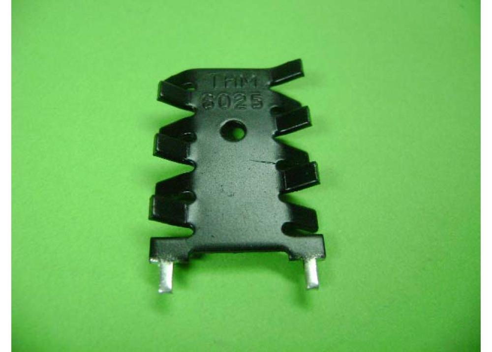 HEAT SINK  30x22x6mm TO220