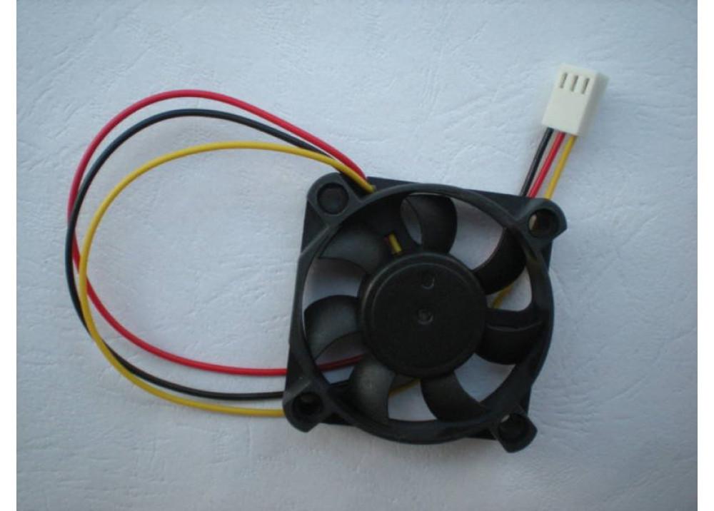 FAN 50x50x10mm 12V 3 Wires CN