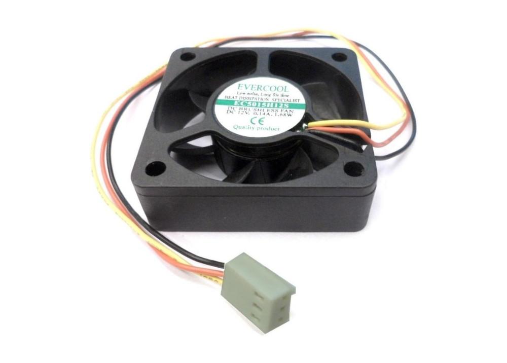 FAN 50x50x15mm 12V 3 Wires CN EC5015H12S