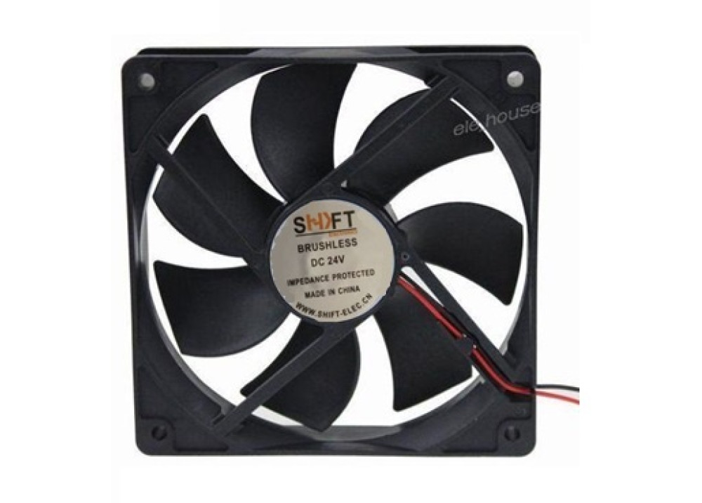 FAN SHIFT  24V 8X8X2.5CM