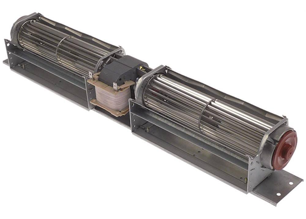 EBM FAN Papst Querstroml  Ventilators 2x180mm QLK45/1818-A  36W